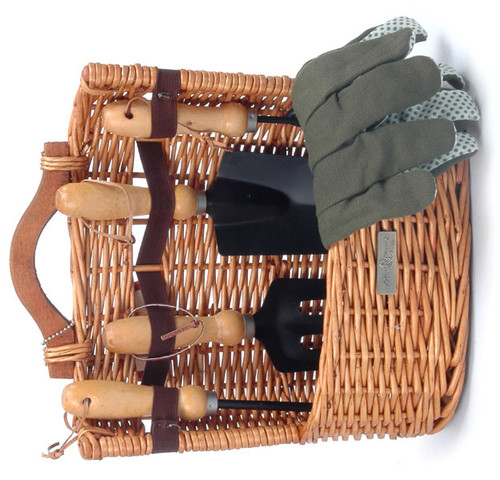 The Arbor Gardening Basket and Tools