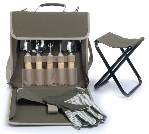 The Terrace Carrier - Gardening Tools and Stool