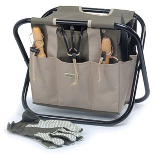 The Terrace - Portable Gardening Tool Carrier and Stool
