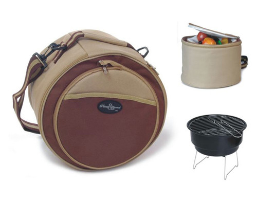 Portable Grill Set with 10 In Grill