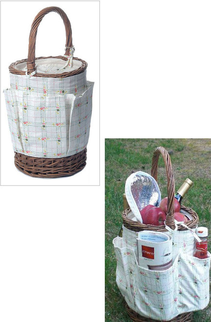 Country Time Baskets (Round)