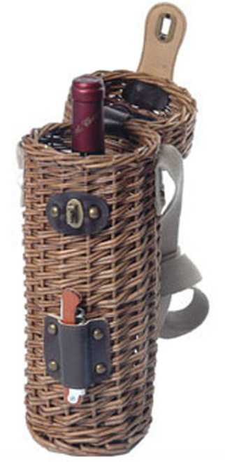 Natural Vineyard Willow Wine Carry Case