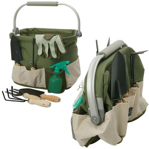 Foldaway Gardening Bag and Tools