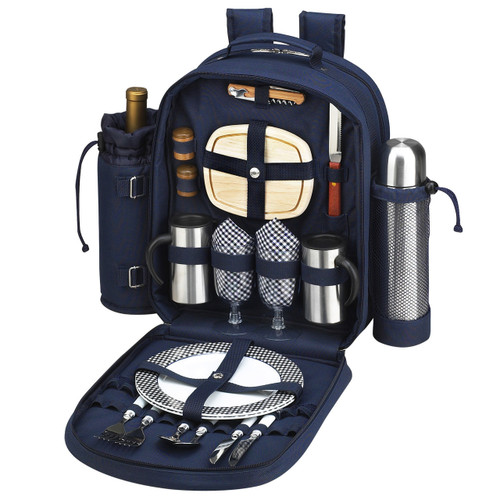 Picnic At Ascot - Picnic & Coffee Backpack for 2