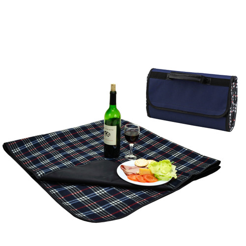 Picnic at Ascot - Picnic Blanket w/ Attached Case