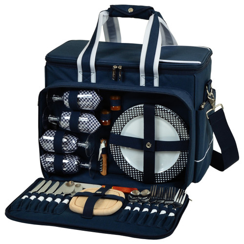 Picnic at Ascot - Deluxe Picnic Cooler for 4