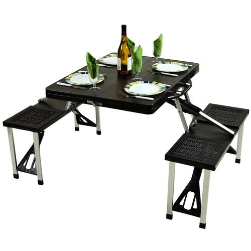 Picnic at Ascot - Plastic Picnic Table set