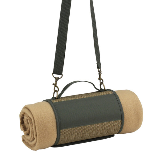 Picnic at Ascot - Fleece Picnic Blanket with Harness