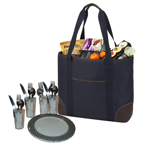 Picnic at Ascot - Insulated Picnic Tote for 4