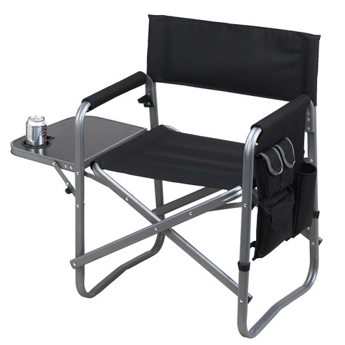 Picnic at Ascot - Director's Chair with Side Table
