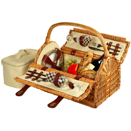 Picnic at Ascot - Sussex Picnic Basket for 2