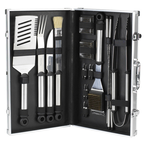Picnic at Ascot - B.B.Q. Stainless Steel Master Grill Tools