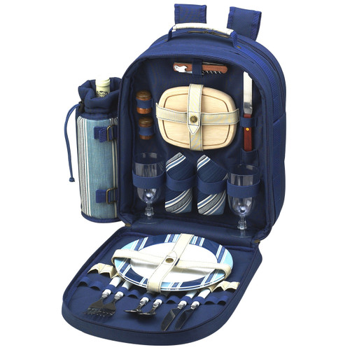 Picnic at Ascot - Picnic Backpack for 2 w/ Blanket