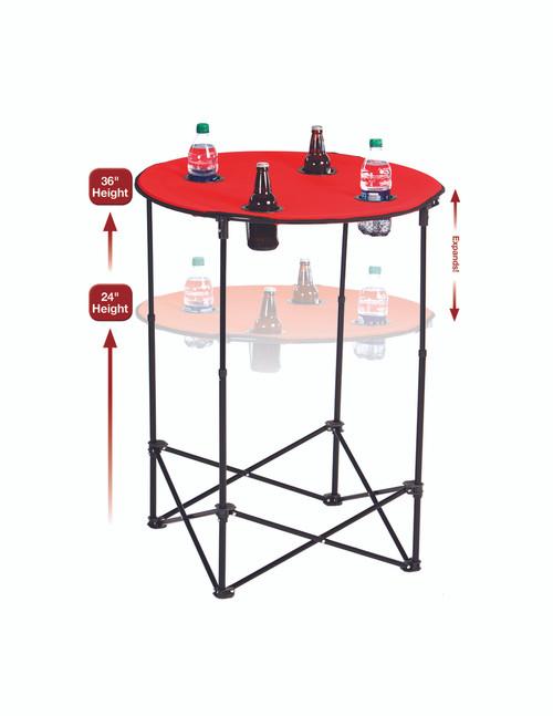 Scrimmage Tailgate Table with Adjustable Height