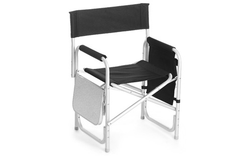 Director's Chair with Table and Pockets