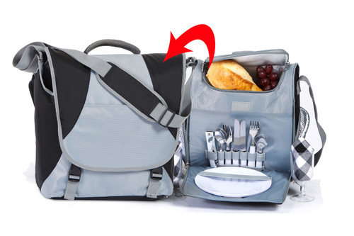 Flex 2-in-1 Laptop and Picnic for 2 Messenger Bag