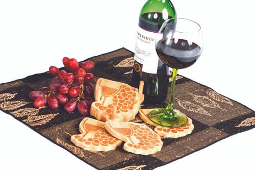 Wine Trail Coasters (Set of 4)