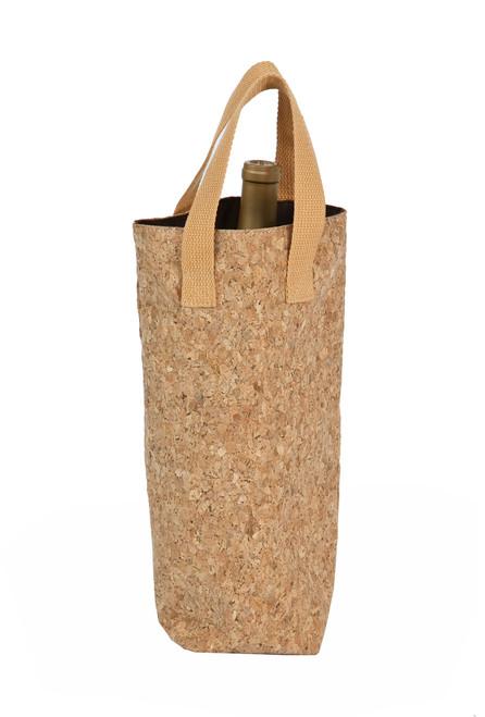 Cork Tote Single Bottle Bag