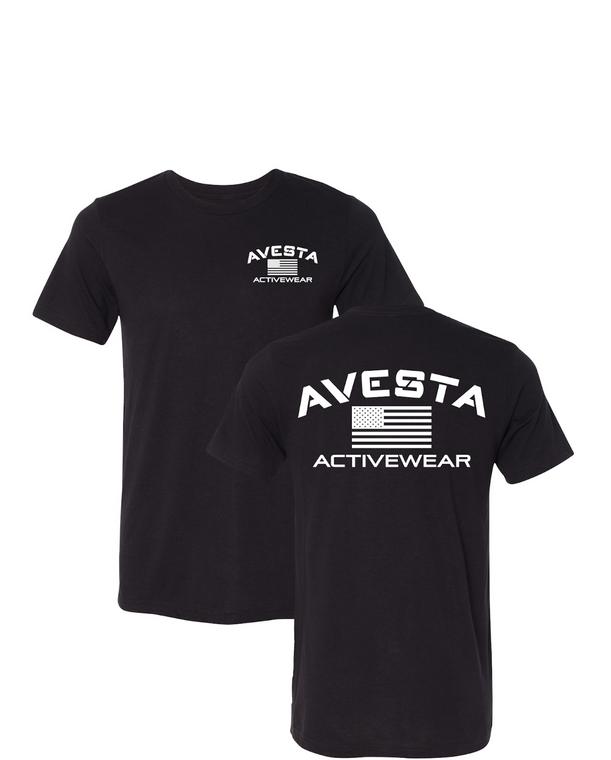 ACTIVEWEAR CREW - Black