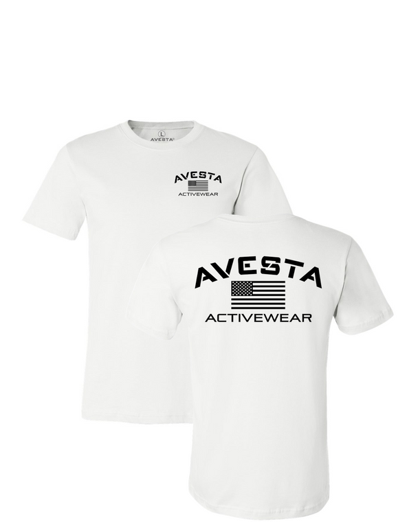 ACTIVEWEAR CREW - White