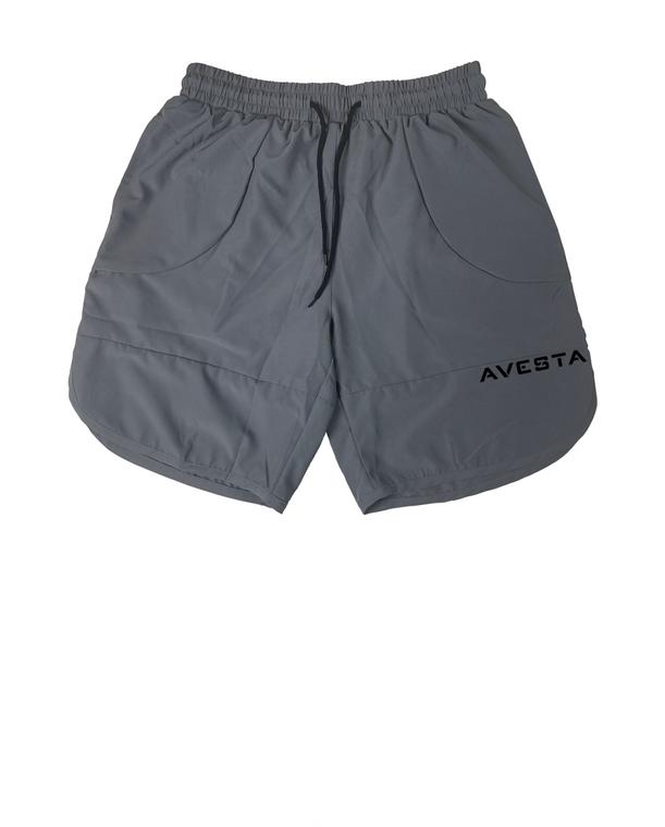 AVESTA SHORTS - Grey