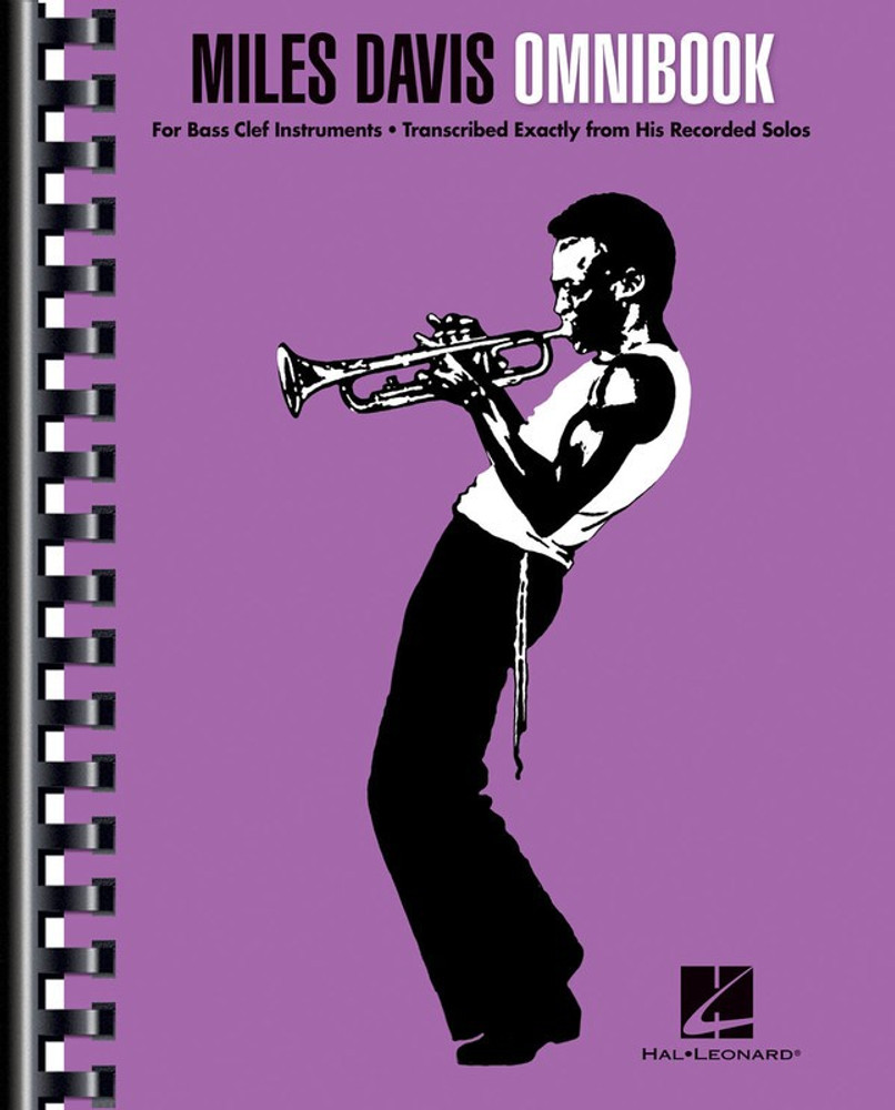 MILES DAVIS OMNIBOOK BASS CLEF EDITION SHEET MUSIC BOOK