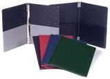 Choral Folder 9.25 X 12 Elastics Exp Pkts Black