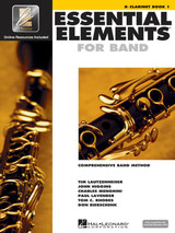 Essential Elements For Band Bk1 Clarinet Eei