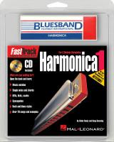 Fasttrack Mini Harmonica Pack Bk/Cd Harmonica