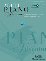 Adult Piano Adventures All In One Lesson Bk 1 Bk/