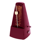 Metronome - Hemingway- Red Pyramid Style With Bell