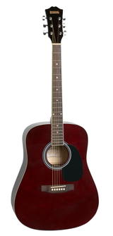 Acoustic Guitar package - Redding - Wine Red