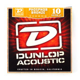 Box Of 12 Dunlop Acoustic Guitar Strings 10/48 (Extra Light)