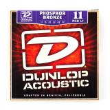 Box Of 12 Dunlop Acoustic Guitar Strings 11/52 (Medium Light)