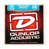 Box Of 12 Dunlop Acoustic Guitar Strings 12/54 (Light)