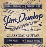 Box Of 12 Dunlop -  Classical Guitar Strings -  Clear Nylon