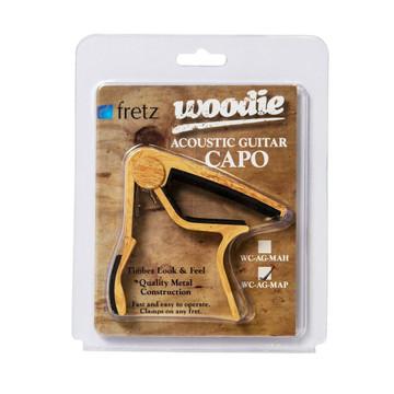 Fretz Woodie Acoustic Wood Look Guitar Capo Maple