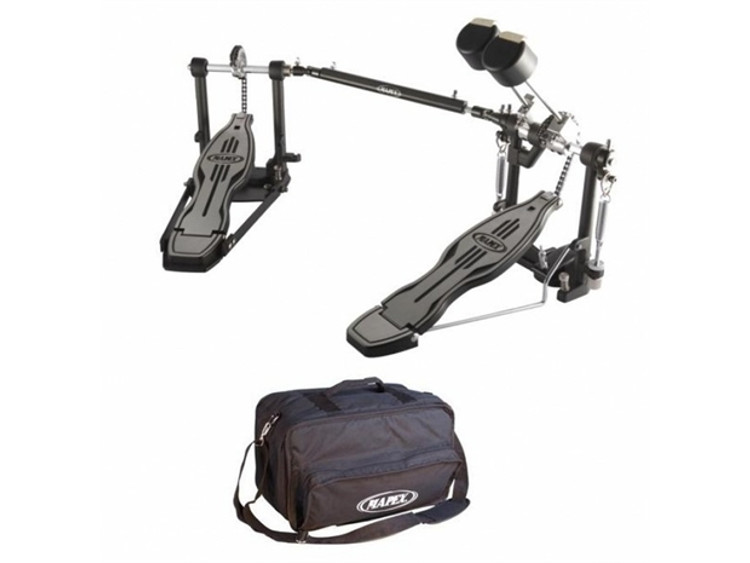 Mapex 700 Series Double Bass Drum Pedals w/bag