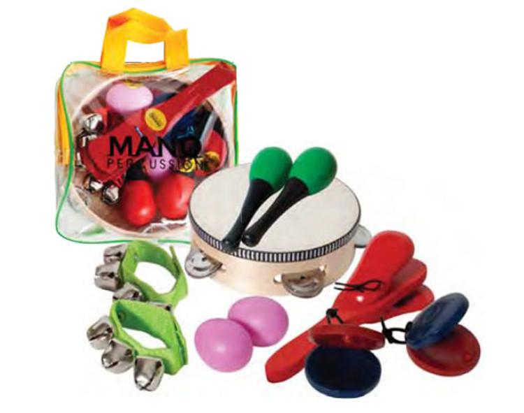 MANO Percussion  6 Piece percussion set