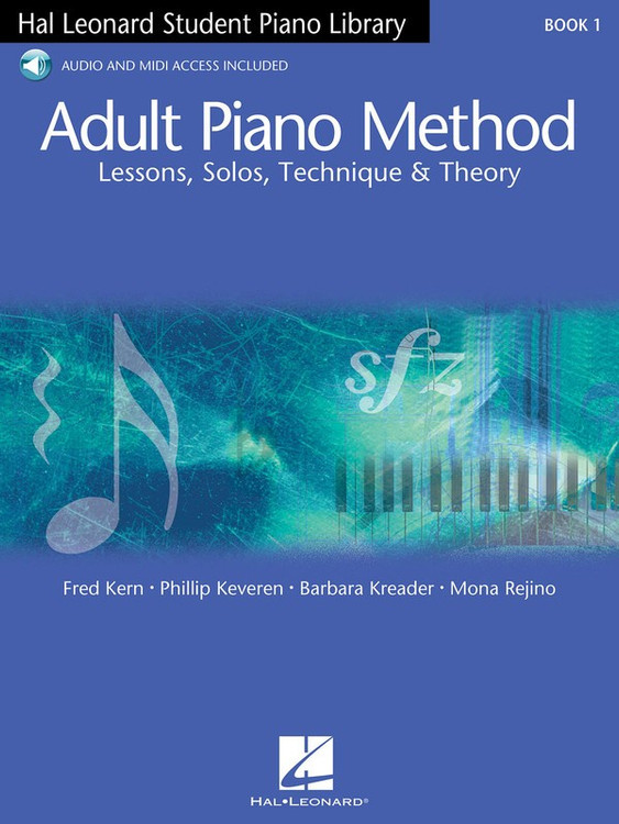 Hal Leonard  Student Piano  ADULT PIANO METHOD BK/OLA