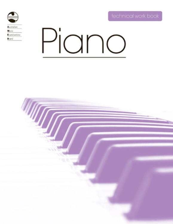 PIANO TECHNICAL WORKBOOK 2008 AMEB