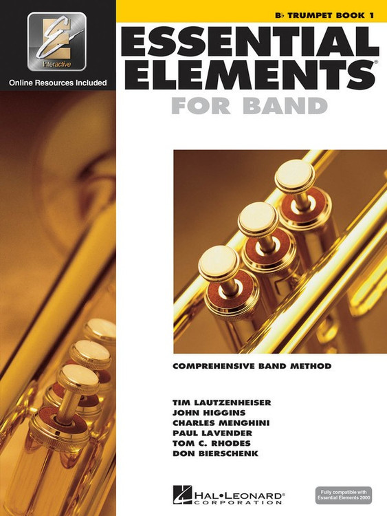 ESSENTIAL ELEMENTS FOR BAND BK1 TRUMPET EEI