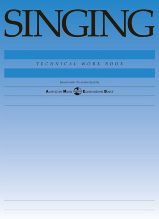 SINGING TECHNICAL WORKBOOK 1998 AMEB