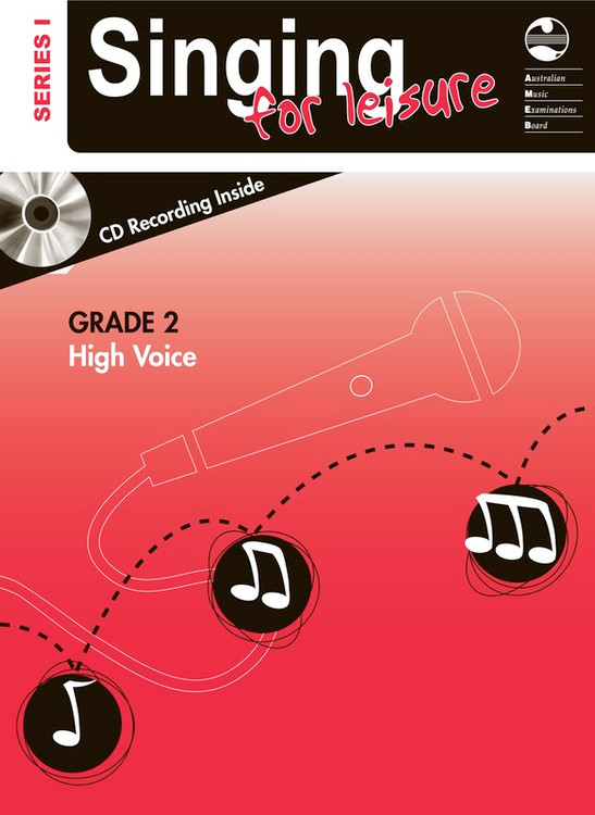 SINGING FOR LEISURE BK/CD GRADE 2 HIGH SERIES 1