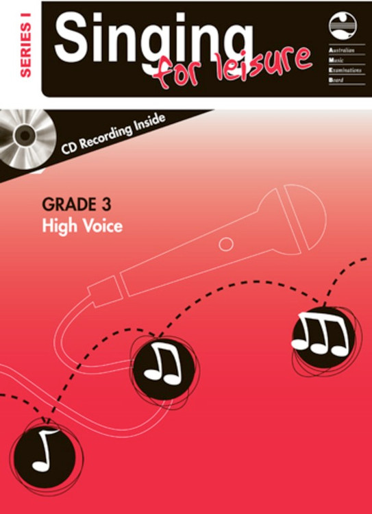 SINGING FOR LEISURE BK/CD GRADE 3 HIGH SERIES 1