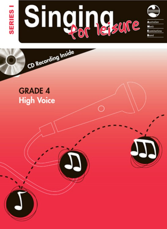 SINGING FOR LEISURE BK/CD GRADE 4 HIGH SERIES 1
