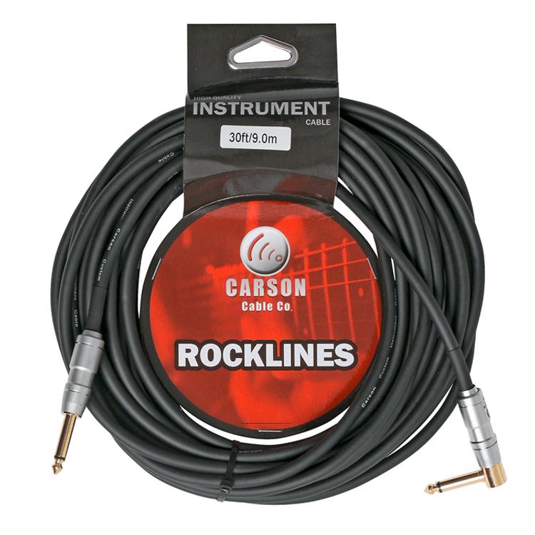 CARSON Rocklines ROK30SL 30 ft Guitar Lead
