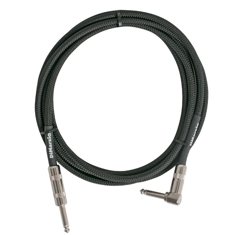 DiMARZIO - 10 foot pro guitar cable lead Black