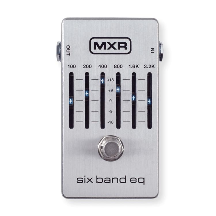 MXR - Six Band EQ Guitar Pedal