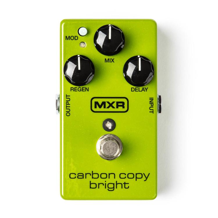 MXR Carbon Copy Bright Delay Guitar Effect Pedal